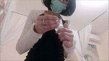 in quarantine you cannot go out to go to the gynecologist, and so I do it alone