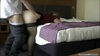 French milf having sex with a stranger at hotel