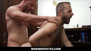 Gay oral sex instructions - Two mormon guys have sex after being ordained as bishop