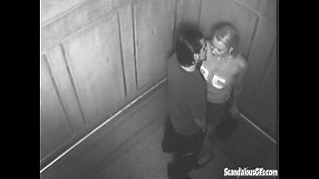 Sexy Time In The Elevator Gets Caught On Cam thumbnail