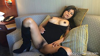 Sexy women tease and please Meximilf gabby quinteros no panties tease