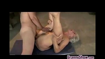 Horny Granny Being Fingered And Fucked