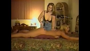 Lesbian bdsm games .   Spanking with a belt, strap-on