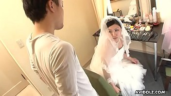 Asian wedding hall Japanese bride, emi koizumi cheated after the wedding ceremony, uncensored