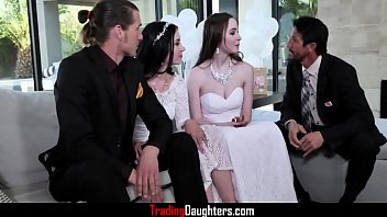 The Wedding Day Fuck For Daughters- Hazel Moore And Jazmin Luv