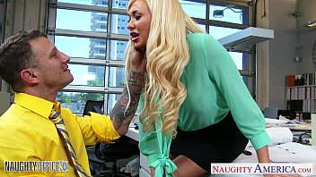 Naughty office cum shot Superb office babe summer brielle gets nailed