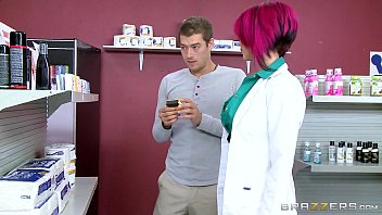 Brazzers - Hot inked Doctor Anna Bell loves big cock