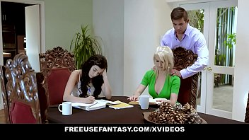 FreeUse Step Daughter Fucked Hard in Front of Stepmom - Free Use Fantasy | Savannah Sixx | Kit Mercer