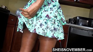 6650 Areolas Are Massive On Sexy Step Daughter With Perky Nipples Saggy Natural Boobs , Skinny Black Babe Msnovember Cleaning Hot Kitchen Before Father Gets Home HD On Sheisnovember preview