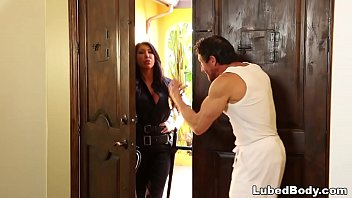 Lonely Policewoman finally gets what she needs! # August Taylor and Tommy Gunn