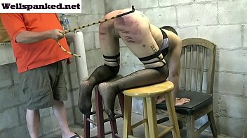Alasandra's Punishment Room Caning Starring Alasandra