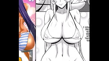 Read shotacon hentai online for free - Mydoujinshop - big breasted bimbos get slutty in sling bikini ikkitousen hentai comic