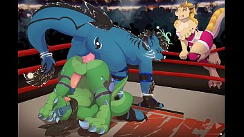 Jasonafex The Dragon Getting Ass-Fucked In Boxing Ring - Yiff Jasonafex