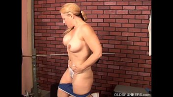 Big mature chubby pussy - Cute and cuddly mature blonde imagines you fucking her wet pussy