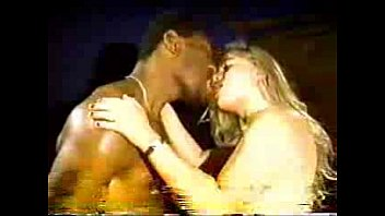 Black floral vintage - Blonde white wife with black lover - homemade interracial cuckold vintage
