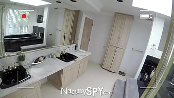 NannySpy Thieving Nanny Adria Rae fucked after being caught stealing thumbnail