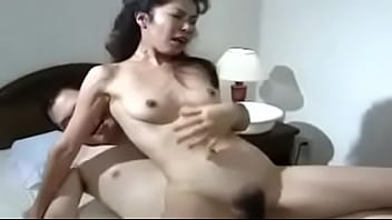 Asian Milf Enjoys Sex Affair With Young Lover