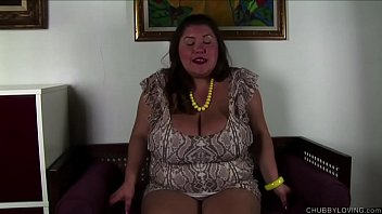 Super cute chubby honey talks dirty and fucks her juicy pussy