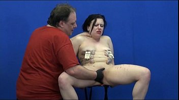 Suffering Isabels extreme domination and tit torment of english amateur slave
