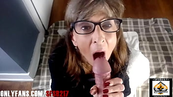 Sexy Milf Wearing Glasses Loves A Fat Cock