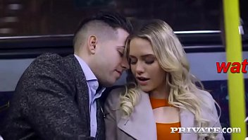 a hot lady fucked on a train
