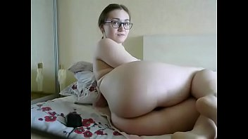 Nerd with nice big  ass