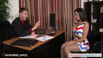 Collant pantyhose - Babe in pantyhose rahyndee james gets facialized