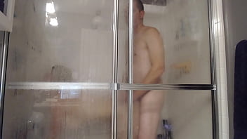 Husband and Wife Fuck in Shower