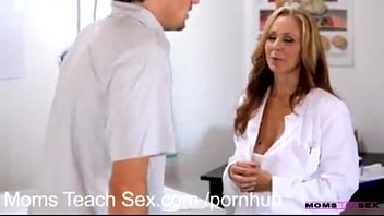 Mom teachs son sex Mom teach sex..julia ann