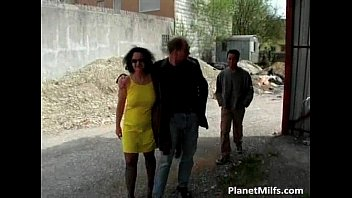 Great Outdoor Group Sex With Horny Milf