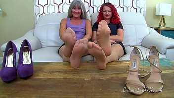 Matures worship feet in pantyhose Pov nylon worship 6 trailer