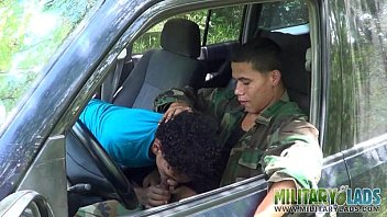 Gay meating places - Civilian gets a taste of military meat