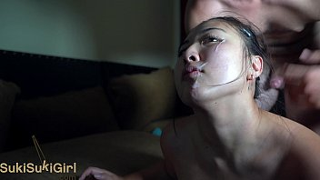 Pussy Eating Or gasm And Facial Cumshot @sukis  Cumshot @sukisukigirlreal