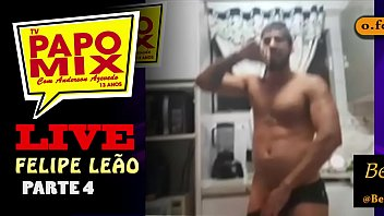 Assista o stripper especial do gogoboy Felipe Leão em live do PapoMix - Parte 5 -  FINAL - Twitter e Instagram: @TVPapoMix