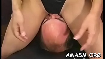 Man delights with two vaginas in home female domination xxx