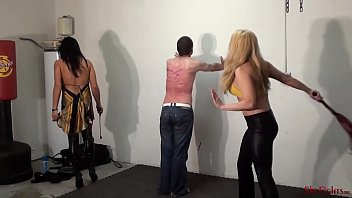 Whipped by Amazons - Merciless Mikaela and Lann
