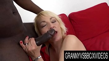 Granny Vs BBC - GILF Adriana Love Lets Her Black Boyfriend Use Every Hole