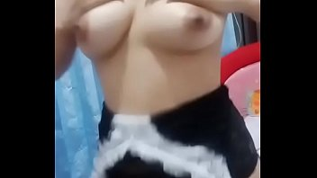 Hot young girl dancing and showing her beautiful boobs and nipple