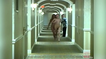 GIRLS GONE WILD - Young Lesbians Sara and Jamie Running Amok In A Hotel