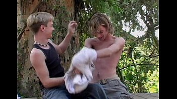 Twink gay movies Deep in the woods