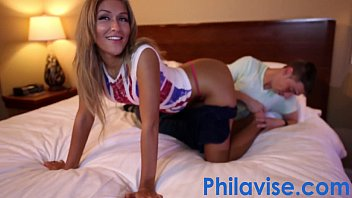 PHILAVISE- Cute blonde teen Chanel Collins gets a proper dicking