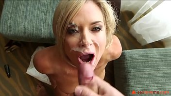 Blond milf amatuer Great blowjob from a hot milf blonde