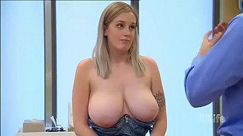 21yo Teen girl have biggest tits doctor shocked