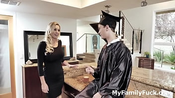 Graduated Stepson gets Reward Fuck From Mom