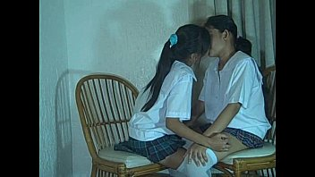 Two thai lesbian shaved pussy