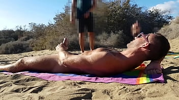 Blowjob in the dunes