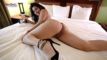 Low Key Fucking My Step Daughter as she watches Porn on her Phone - Gabriela Lopez