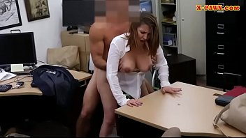 Foxy business woman railed by pawn dude