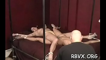 Luscious floosy getting face fucked