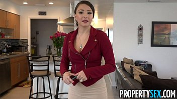 Propertysex - Hot Big Ass Latina Agent Fucks Pervert In Amateur Sex Vide